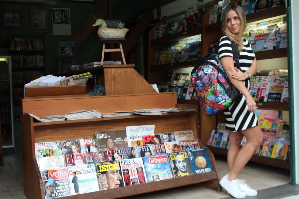 Look Chris Castro street style stripes bonne tênis branco idbloggers 11
