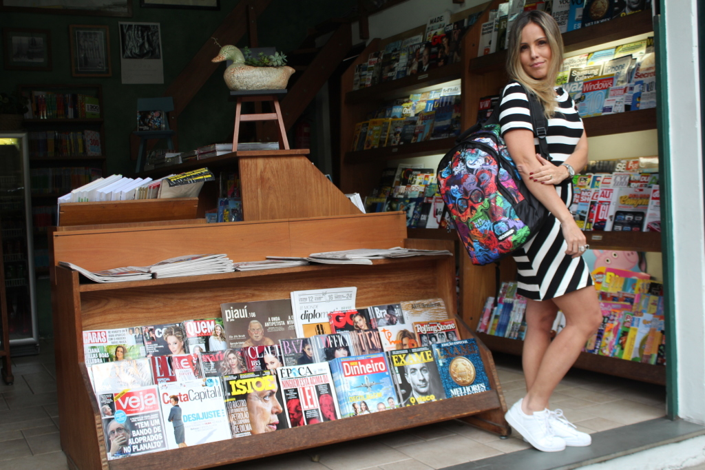 Look Chris Castro street style stripes bonne tênis branco idbloggers 12