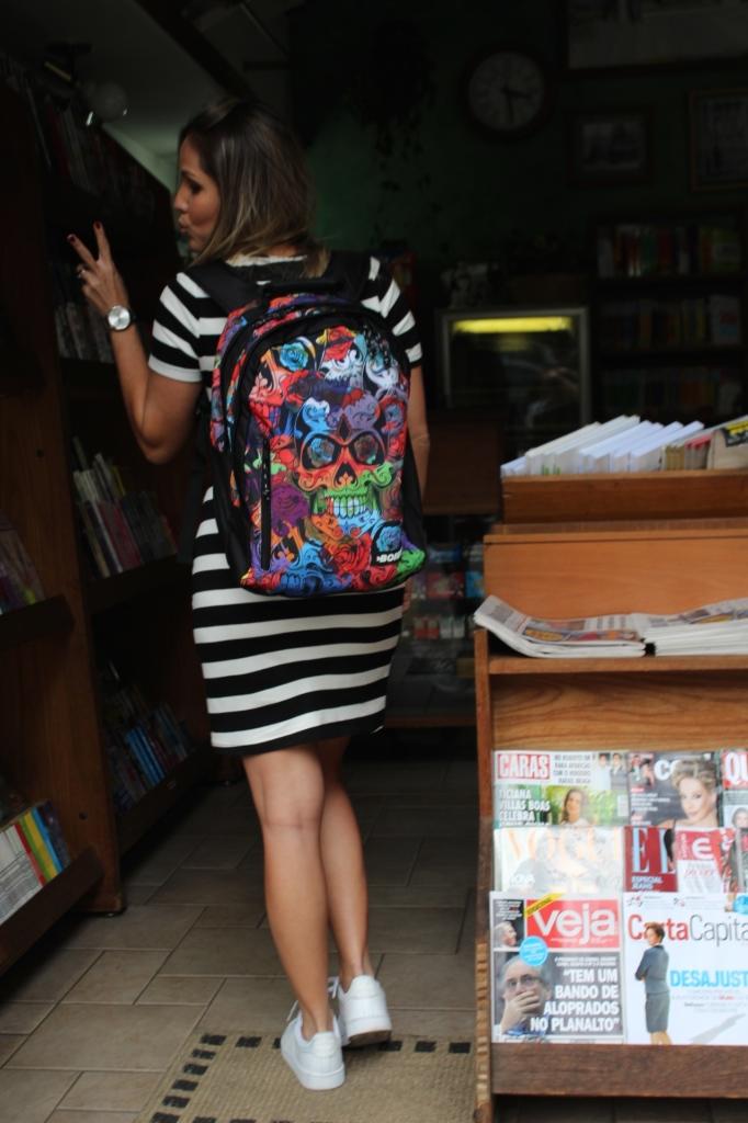 Look Chris Castro street style stripes bonne tênis branco idbloggers 4