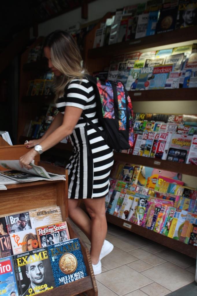 Look Chris Castro street style stripes bonne tênis branco idbloggers 5