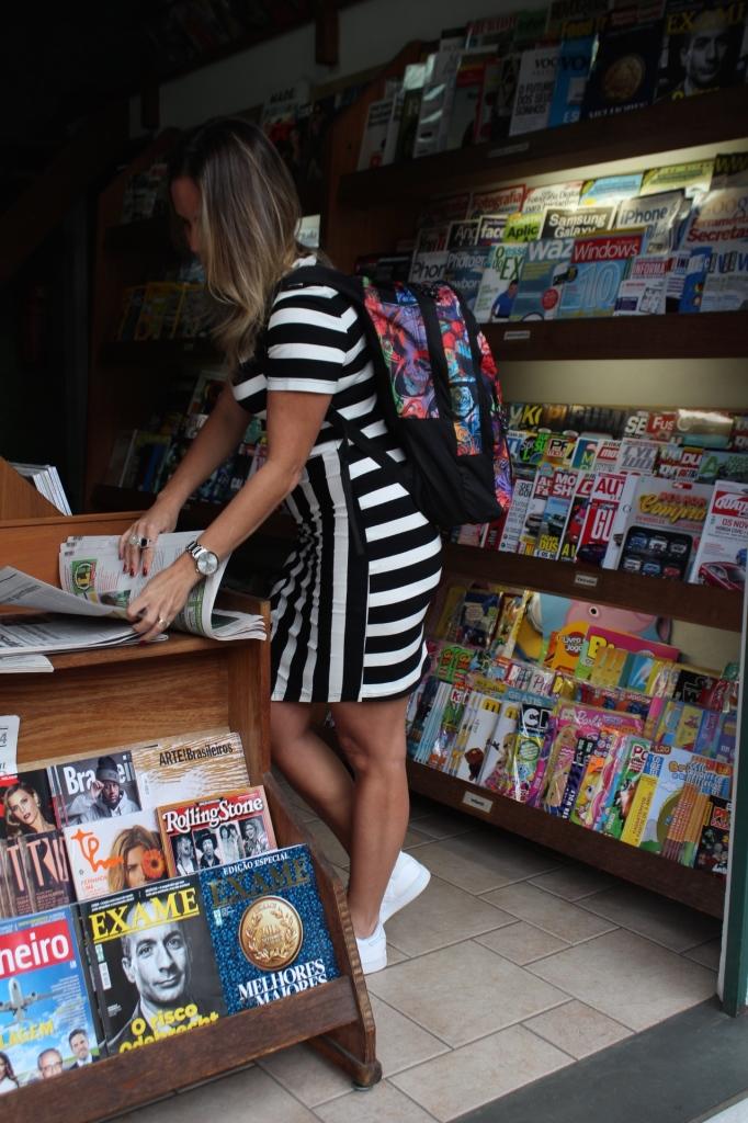 Look Chris Castro street style stripes bonne tênis branco idbloggers 7