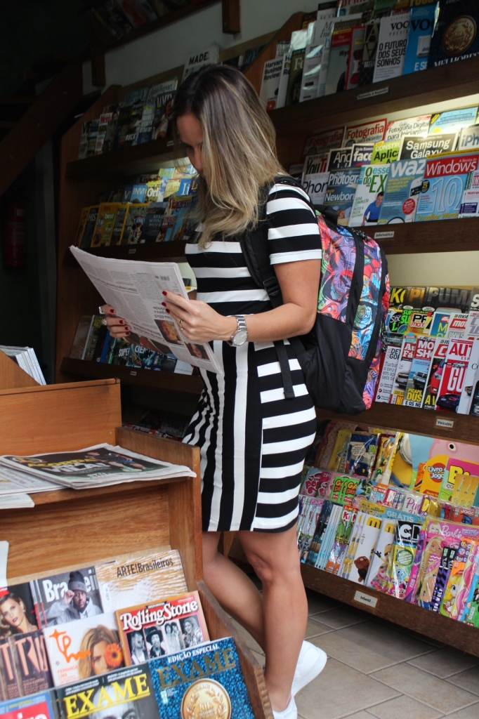 Look Chris Castro street style stripes bonne tênis branco idbloggers 9
