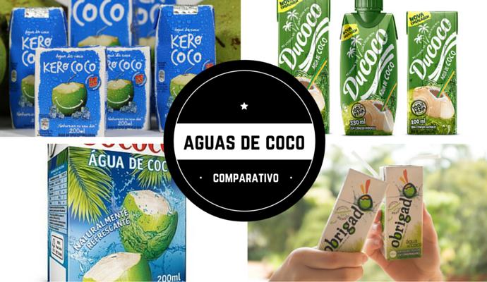 Agua de coco industrializada comparativo chris castro 2