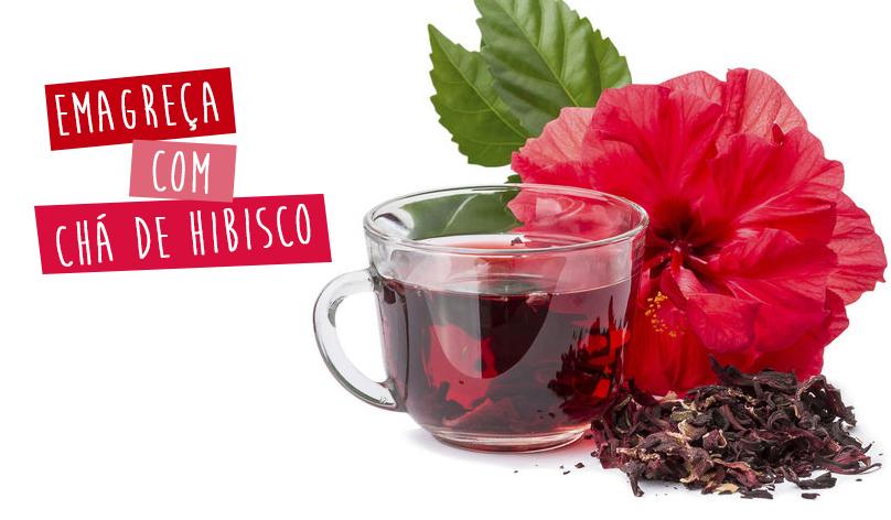 Chá de hibisco emagrece chris castro 2