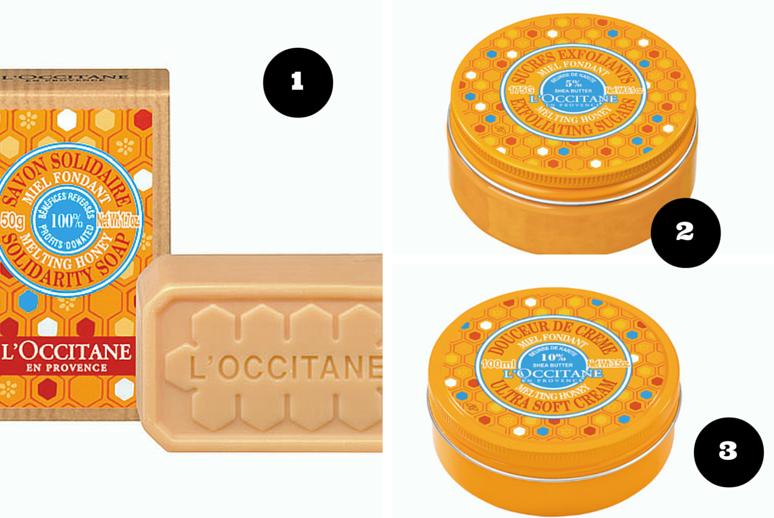 Novos produtos Karité e Mel da L'Occitane 1