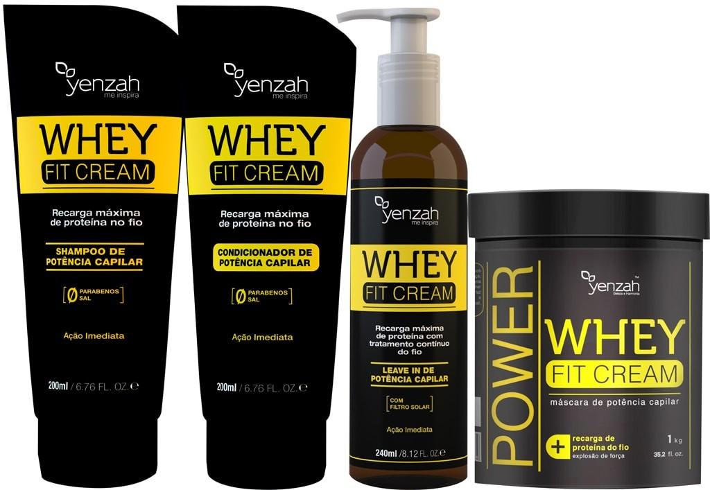 Whey protein funciona para cabelos YENZAH chris castro 1