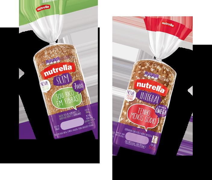 Informação nutricional dos pães Nutrella chris castro 1
