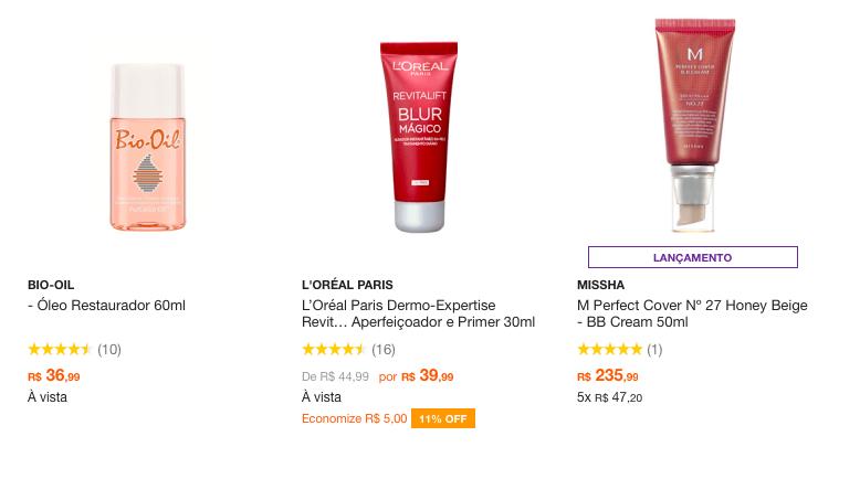 Melhores produtos de beleza na web chris castro 2